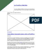 Como Configurar Wordpress