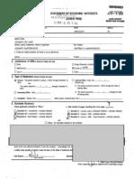 April 2011 Form 700 - Supervisor Anthony Far Ring Ton