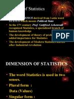 Statistic Intro