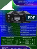 Inverter Dc to Ac 500 Watt 12 Vdc