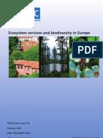 EcosystemServicesAndBiodivEurope