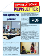 International Newsletter