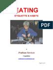 Eating Etiquette Habits