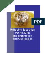 Philippines EFA MDA