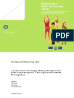 Developing a Health Promoting School