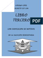 Codigo Civil - Libro III - Exposicion Motivos