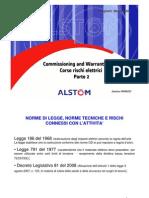 Presentazione Corso Rischi Elettrici Parte 2 Agg. 08ott09