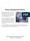 H Money Management Planner (8 Pages)