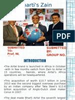 Bharti's Zain Acquisition