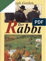 Gordon, Noah - Der Rabbi