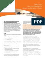 Information in-flight Fact Sheet