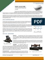 White Paper on Harmonic Vibration Analysis