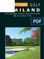 Pocket Guide GOLF Thailand 2011 Edition