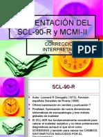 PRESENTACIÓN DEL SCL-90-R