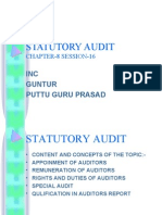 STATUTORY AUDIT