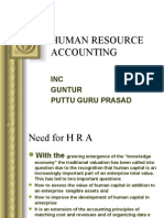 HUMAN RESOURCES ACCOUNTNG