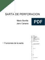 Mario Bonilla Sarta de Perforacion