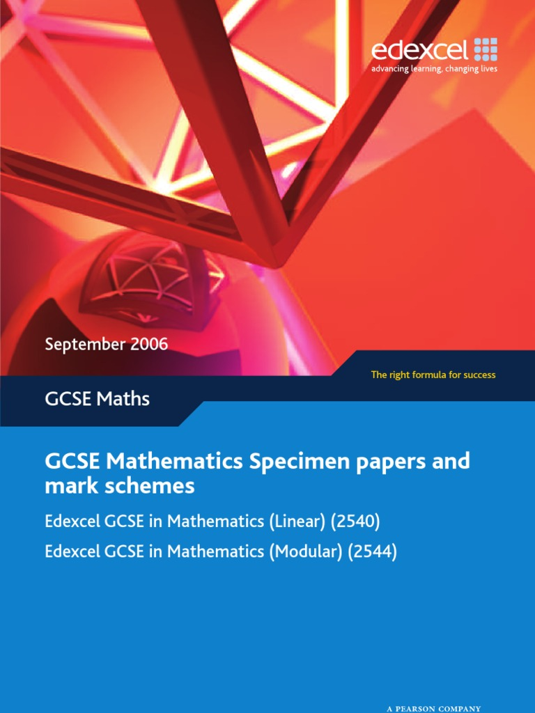 June 13th edexcel 1mao maths mark scheme of secondary array gcse edexcel u002708 modular specimen papers and mark schemes sine rh fandeluxe Image collections