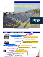 R&D on Innovative Solar Cells Koichi SAKUTA PV in AIST