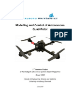 [Project] Modelling and Control of Autonomous Quadrotor