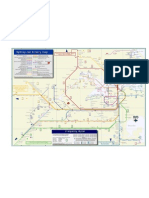 Sydney Rail and Ferry Map