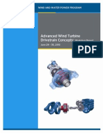 Advanced Drive Train Workshop Report