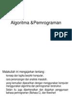 Algoritma &Pemrograman