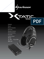 Sharkoon X-Tatic Digital Manual En