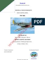 Black Horse Focke Wulf FW190A ARF120
