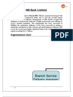 Job Analysis NIB Bank