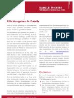 NICKERT Whitepaper Pflichtangaben in E-Mails