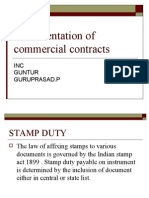 Documentation of commercial contracts 2 10