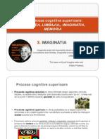 6.Procese Cognitive Superioare - 3.IMAGINATIA