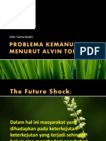 Problema Kemanusiaan Alvin Tofler
