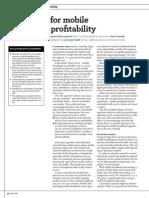 309 the Recipe for Mobile Broadband Profitability