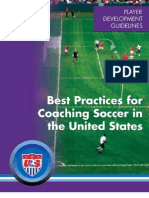 USSF Best Practices