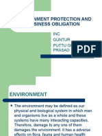 ENVIRONMENTAL PROTECTION LAWS
