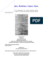 Sejarah Ringkas Berdirinya Negara Islam Indonesia