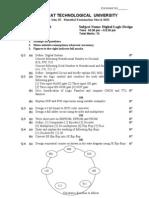 130701-2 Digital Logic Design gtu 3rd sem paper