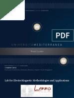 Presentazione Laboratorio LEMMA / LEMMA Laboratory presentation