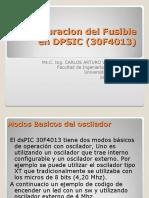Configuracion Del Fusible en DPSIC (30F4013)