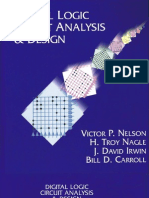 Digital logic circuit analysis and design, victor p. Nelson.