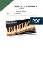 Como Aprender a Tocar Teclado y Piano