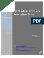 Rear Wheel Drive vs Front Wheel Drive
