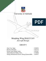Morphing Wing HALE UAV