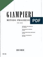OBOÉ - MÉTODO - GIAMPIERI - Elementar (oboe method)