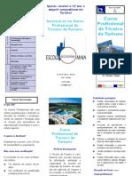 ESMAIA - Panfleto Curso Profissional de Turismo