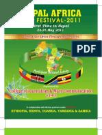 Nepal Africa Film Festival Souvenir Booklet