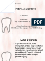 HIPERPLASIA GINGIVA