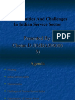 Opportunities and Challenges in Indian Service Sector